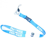 High quality Guatemala Lanyard for 2014 World Cup.