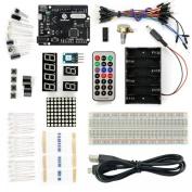 SainSmart Leonardo R3 Starter Kit for Arduino with Tutorial Instruction Manual on Basic Arduino Projects