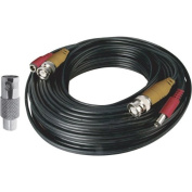 Night Owl Security CAB-60 18m BNC Video/Power Camera Extension Cable with Adapter
