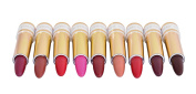 Island Beauty Lipstick - Burgundy - Pack of 2 Lipsticks