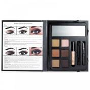 e.l.f Beauty Book BRONZED LOOK: 6 Eyeshadows : 1 Eyelid Primer