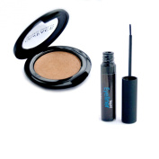 Dollface Mineral Makeup Christmas Gift Set Bronzer with Black Liquid Eye Liner Set