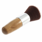 Buffer Foundation Powder Brush Cosmetic Makeup Basic Tool Wooden Handle