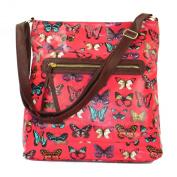 Zarla NEW UK Women Across body Bag Ladies Large A4 Long Shoulder Strap Satchel Handbag