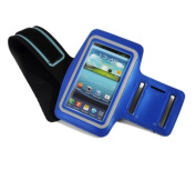 Blue Outdoor Running Gym Leather Arm Band Armband Case/Cover for Apple iPhone 6