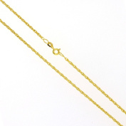 46cm 9ct Yellow Gold Prince of Wales Chain