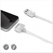 CELLY USB DATA CABLE FOR IP4/4S WHITE