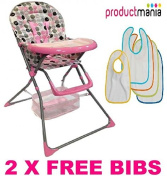 BRAND NEW BABY HIGH CHAIRS FOLDABLE HIGHCHAIR FEEDING TOP QUALITY 2014 MODEL