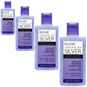 Pro:Voke Professional Intensive Treatment Conditioner Touch of Silver for Blonde, Grey or White Hair 150 ml