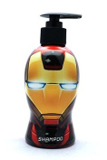 Iron Man Avengers Shampoo in Collectible Pump Bottle 300ml