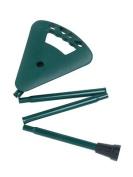 Activera Flipstick Walking Stick / Seat with Shoulder Bag Foldable Extra-Short Dark Green