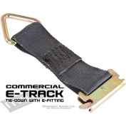 (2) Tie-Down Straps with E-Fittings for E-Track Systems