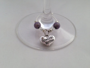 Special Mother Wine Glass Charm by Libby's Market Place