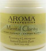 Natural Bubble Bath, Mental Clarity, Rosemary & Lemongrass, 410ml