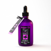 Pure Argan Oil with Lavender and Lemongrass Essential Oils.100% Organic. 100ml. For Face, Body, Hair.