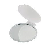 Pack of 10 Compact Handbag Mirrors - Folding Cosmetic Mirror