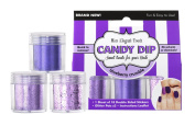 Elegant Touch Candy Dip, Blueberry Crumble/ Purple