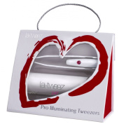 La-Tweez Valentines Pro Illuminating Tweezers