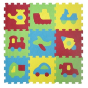 LUDI Basic Transport Themed Foam Mat