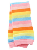 Baby Red Pink Rainbow Stripe Leg Warmers Age 3 months upto 5 years old