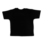 BabywearUK 2-3 YR T-SHIRT - Black - British Made