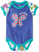 Hatley Baby Girls Infant Envelop Neck One Piece Bugs Bodysuit