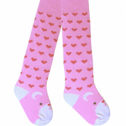 Baby Girls & Toddlers Super Soft Comfort Cotton Rich Patterned Design Tights