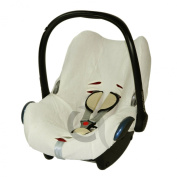 Summer Cover fits Maxi Cosi Cabriofix CAR SEAT Washable Cotton Towelling