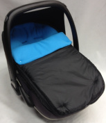 Universal Car Seat Footmuff To Fit Maxi Cosi Pebble Turquoise