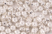 Pack of 50 Flower Spacer/Metal Beads 6mm