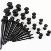 Ardisle Full Kit Ear Taper Kit Ear Plug Set Taper Stretching Expanders Tapers Stretchers