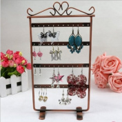 Homgaty Heart Large Earring Necklace Jewellery Stand Holder Display Chic