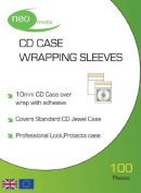 CD Case Wrapping Sleeves for 10mm CD Cases