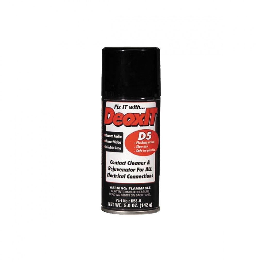 CAIG DeOxit Cleaning Solution Spray, 5% spray 150ml