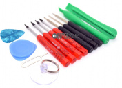 Etrader Direct - 13 in 1 Repair Opening Tools Kit Screwdriver Set For iPhone 3,3GS,4,4S,5, iPad iPod iTouch PSP NDS & HTC