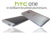Textured Brushed Aluminium Skin Sticker Metal Wrap cover for HTC One M7 ...NOT CASE
