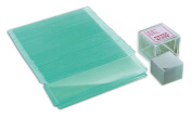 Bresser microscope accessories slides (50pcs.) and cover glasses