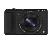 Sony DSCHX60 Compact Digital Camera with Wi-Fi and NFC - Black