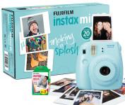 Fujifilm Instax Mini 8 Camera with 20 Shots - Blue