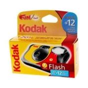 Kodak Fun Flash Disposable Camera - 39 Exposures Box of 10