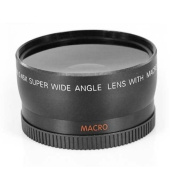 DIGIFLEX 58MM Wide Angle Lens for Canon 350D 400D 450D 500D 1000