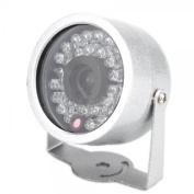 BW® New 30 LED Colour Day/Night Surveillance Dome Video Camera Outdoor/Indoor IR CMOS Surveillance CCTV Camera