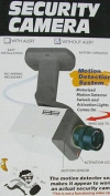 Dummy security camera - motion detection