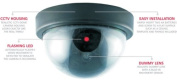 Dummy Security Camera Domes x 4