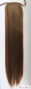 PRETTYSHOP 60cm & 100g Hair Piece Clip In Pony Tail Extension Very LONG & SEXY Straight Heat-Resisting Like Real Human Hair Diverse Colours