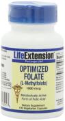 Life Extension Optimised Folate (L-Methylfolate)