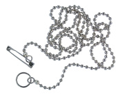 NURSES POCKET CHAIN FOR SCISSORS, STAINLESS STEEL CHAIN, VERY STRONG AND SUPERBLY MADE, MADE IN UK AND POSTED IN DORSET. HANDMADE AND TO THE FINEST QUALITY AVAILABLE.