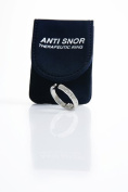 Anti Snor Therapeutic Acupressure Stop Snoring Snore Ring- Natural Sleep Aid for the Relief of Snoring, Sinus Issues, Restless Sleep, and Insomnia Sufferers