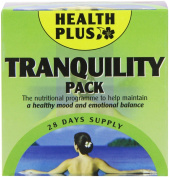 Health Plus Tranquilly Pack Mood and Emotion Daily Supplement - 28 Day Supply