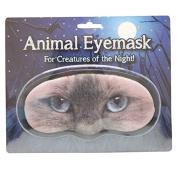 Novelty Animal Eye Mask - 'CAT' Sleep Joke Blindfold Practical Joke Gift